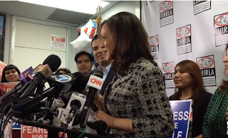 Newly Elected Kamala Harris Vows To Defy Trump On Immigration