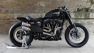 warrs super holigan flat track 1200 roadster by warrs side right