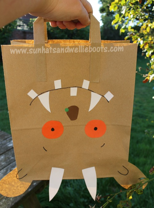 Sun Hats & Wellie Boots: Simple Gruffalo Mask - Great Craft