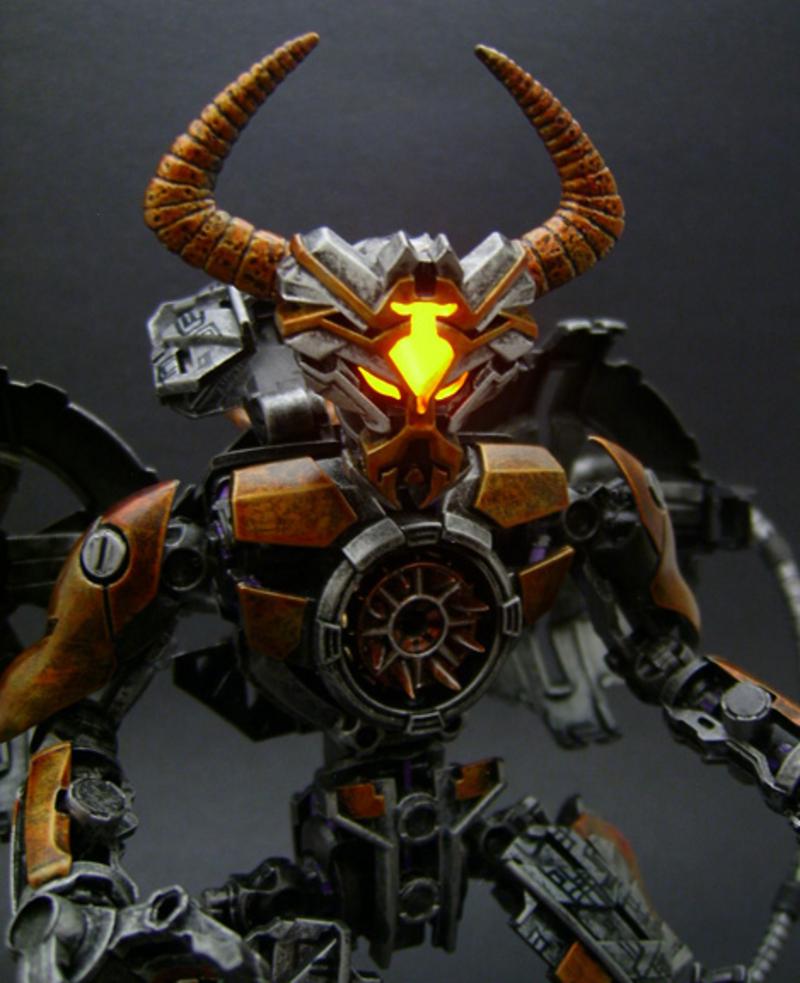 Transformers 4 Unicron Transformers Custom Wo...