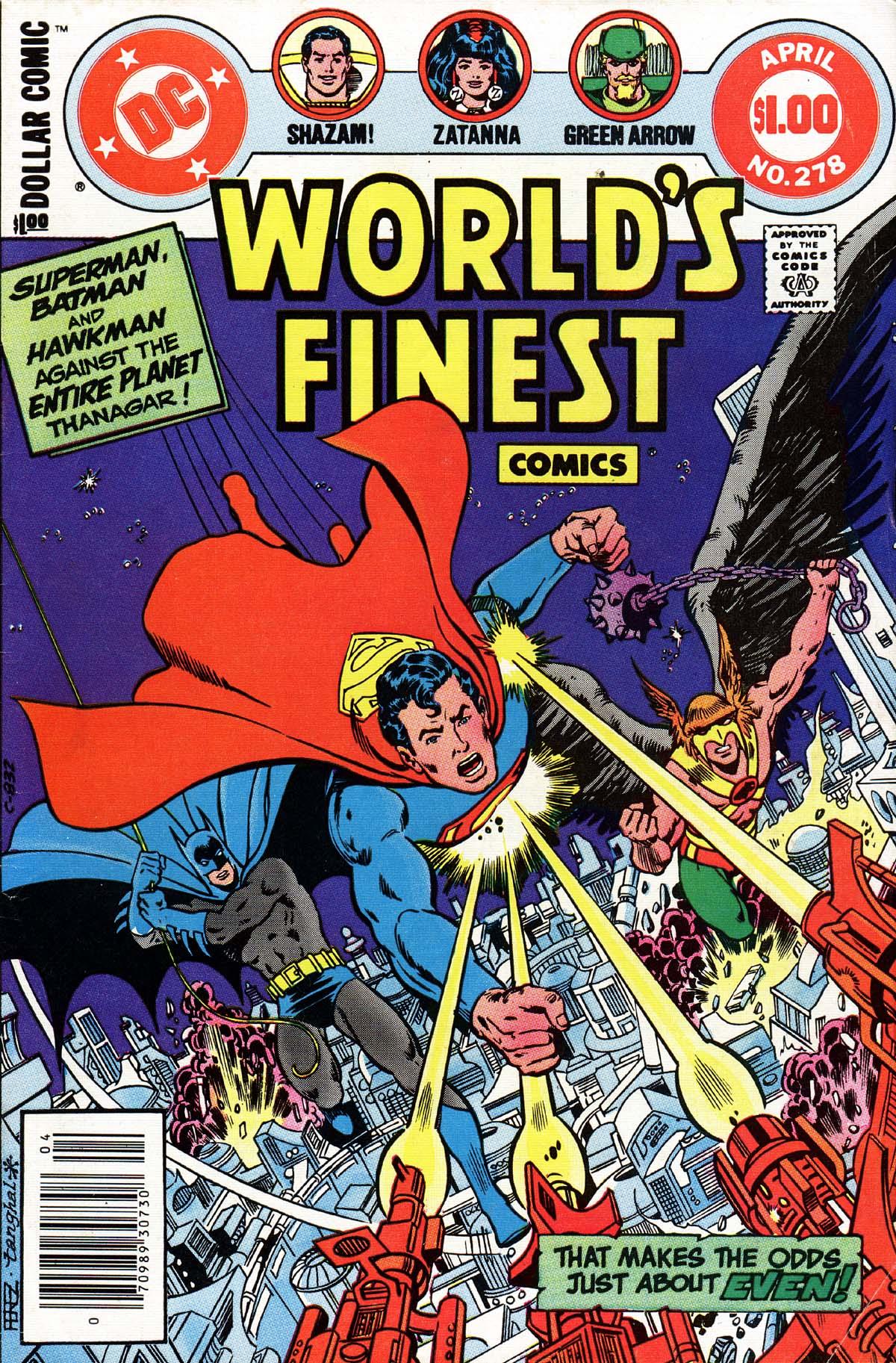 Read online World's Finest Comics comic -  Issue #278 - 1