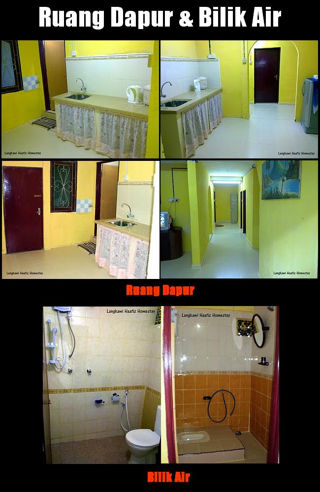 Ruang Dapur Dan Bilik Air