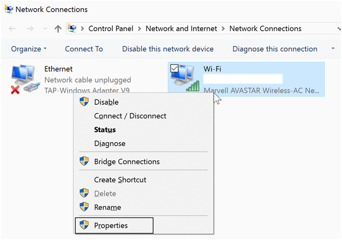 how to fix no internet connection on windows 7
