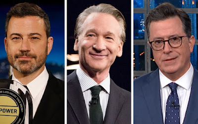 Late-night TV is dominated by anti-Trump leftists who promote abortion