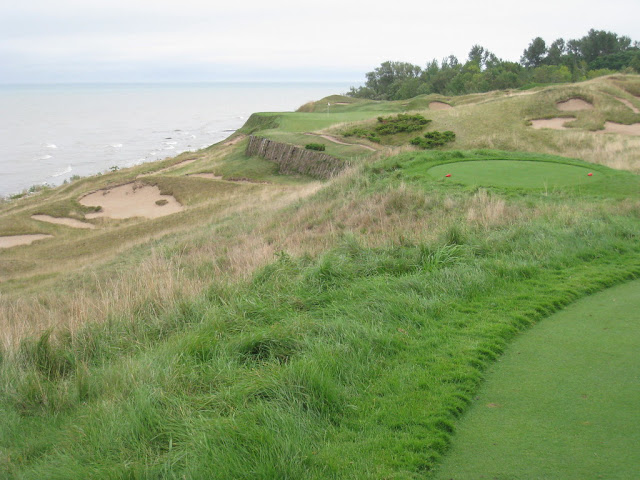 Whistling Straits is on the list of Pete Dye golf courses