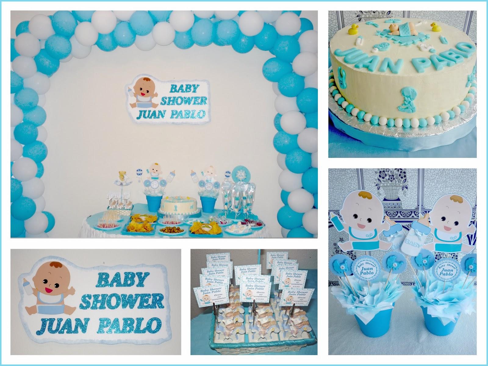 Baby nina fiestas baby shower para juan pablo for Fiesta baby shower decoracion