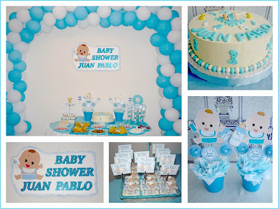 Baby shower niño