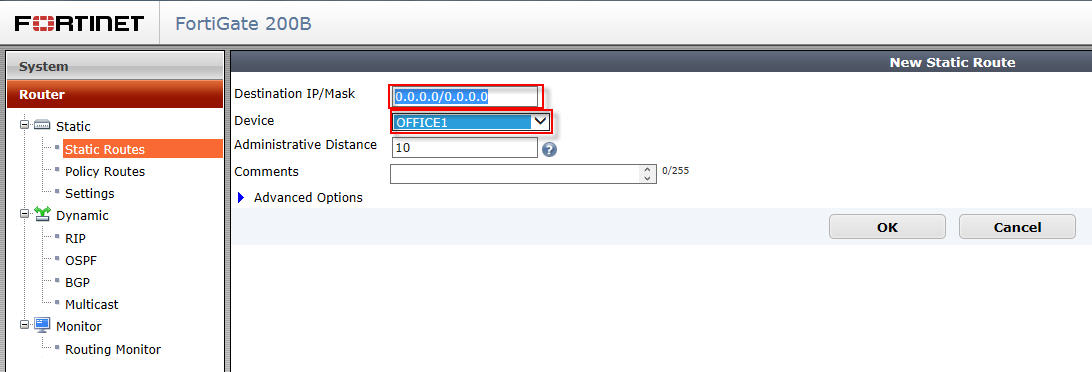 ThinGs-on-E: VPN site-to-site between Cisco ASA to Fortigate