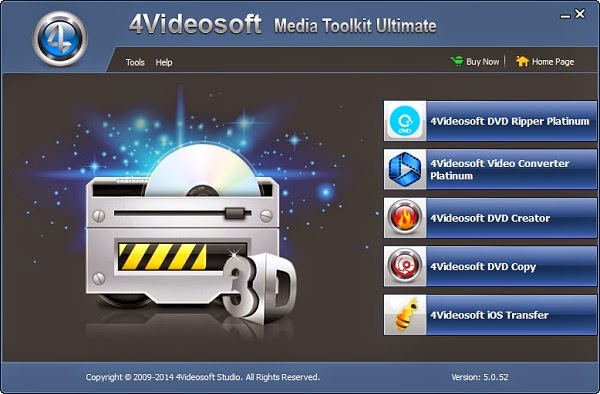 4Videosoft Media Toolkit Ultimate 5.0.52 + Crack Multilingual Free Download