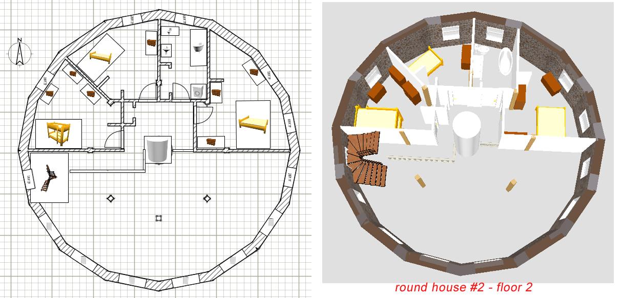 Stone Table Farm: House Plans