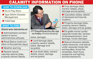 Sikkim disaster management department  free mobile app