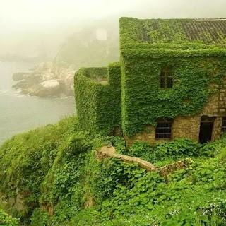 Opuszczone miasto widmo na wyspie Shengshan