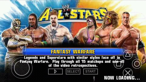 WWE ALL STARS CSO PPSSPP FOR ANDROID