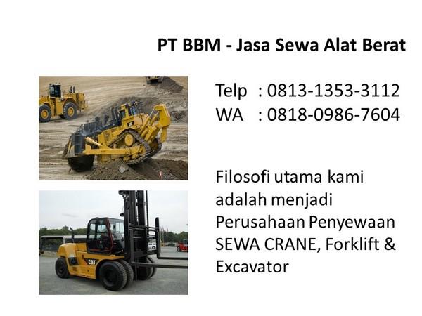 rental alat excavator pc200 di bandung dan jakarta