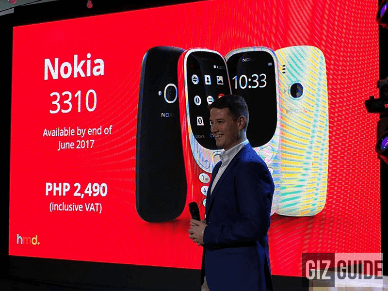 Nokia Launches New 3310 And Smartphones In PH, Priced!