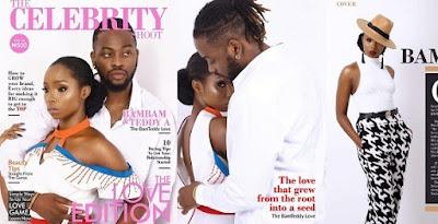 BamBam & Teddy A cover The Celebrity Magazine's love edition