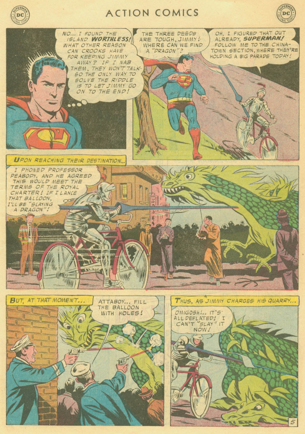 Read online Action Comics (1938) comic -  Issue #231 - 7