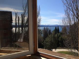 Vista do quarto do Hotel Design Suites em Bariloche