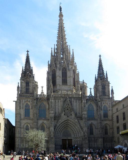 Barcelona Cathedral, Pla de la Seu, Barcelona
