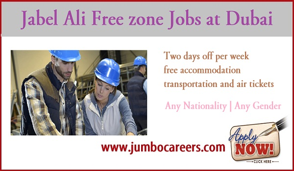 Fire & Safety Jobs at Jabel Ali Free Zone Dubai | Free Accommodation