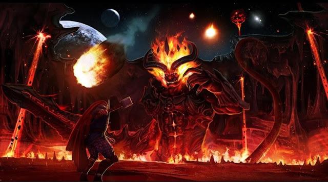 siapa Surtur musuh Thor di Film Thor: Ragnarok?