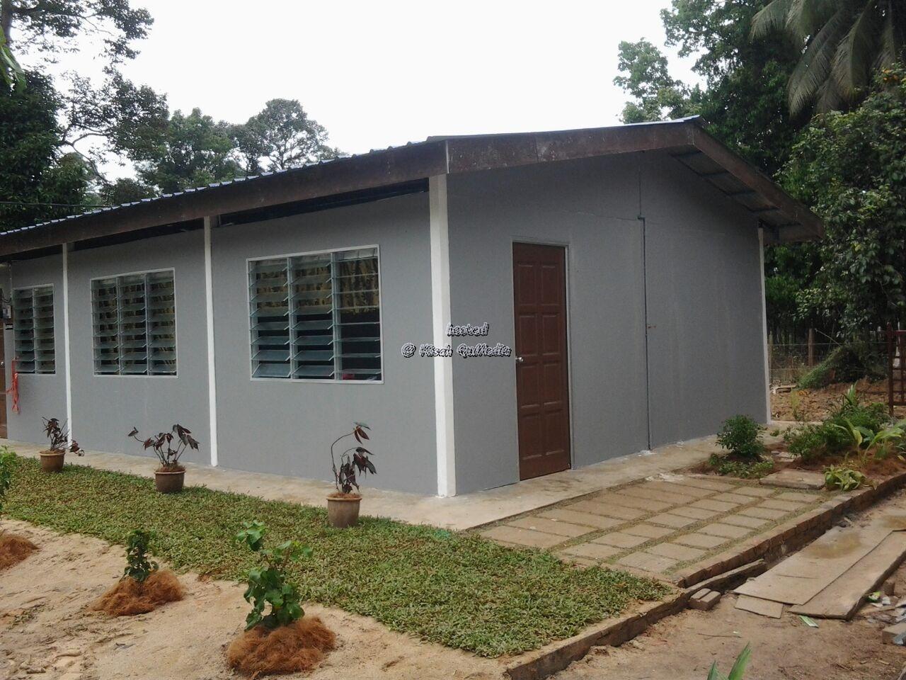 Bina Rumah Tiga Bilik Dengan Kos Hanya
