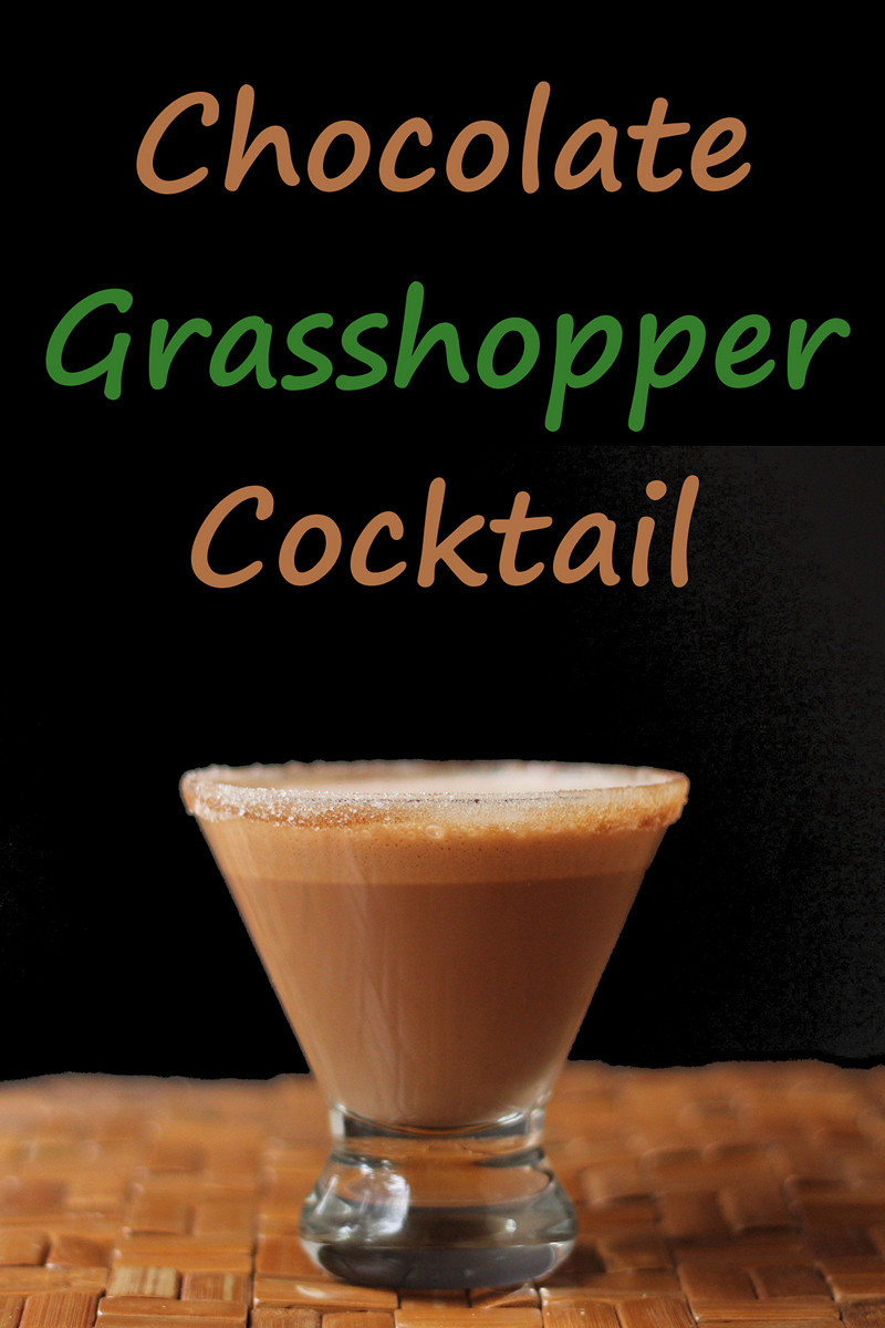 Chocolate Grasshopper Cocktail