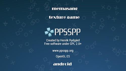 Cara Memasang Textures Game PPSSPP Android