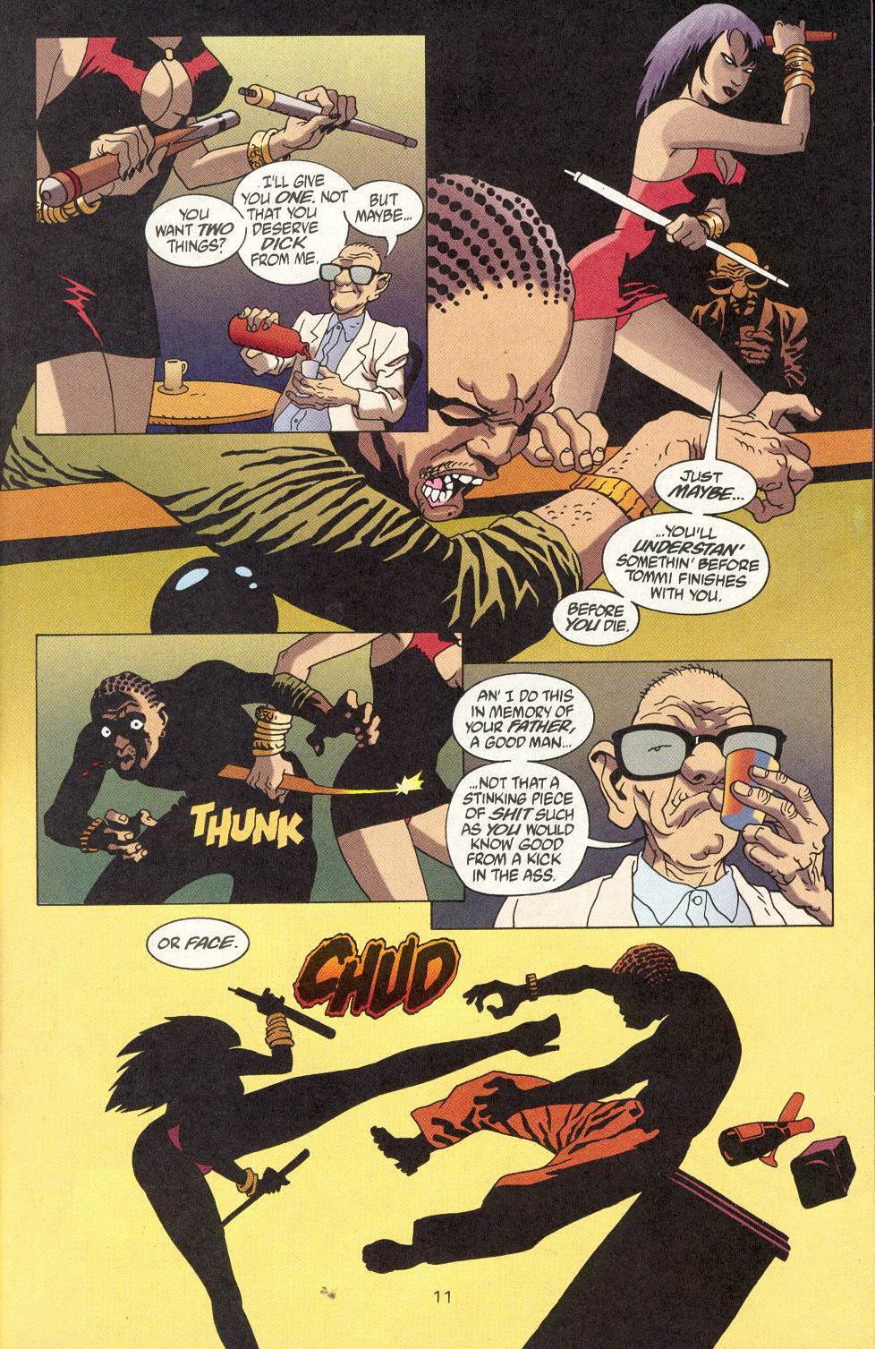 Read online 100 Bullets comic -  Issue #18 - 13