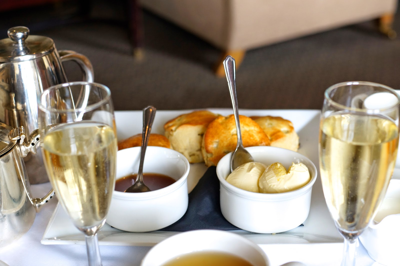 woodhall spa and hotel cream tea