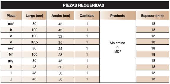 Diy mueble de melamina plano para mobiliario de for Fabricacion de muebles de melamina pdf