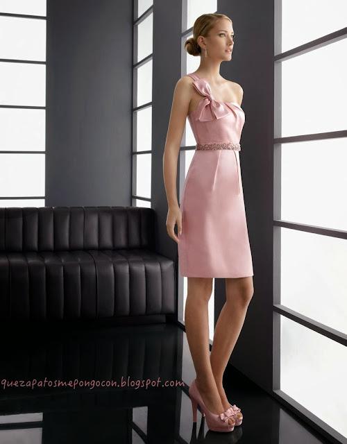Que Zapatos Me Pongo Con Un Vestido Palo Rosa Como