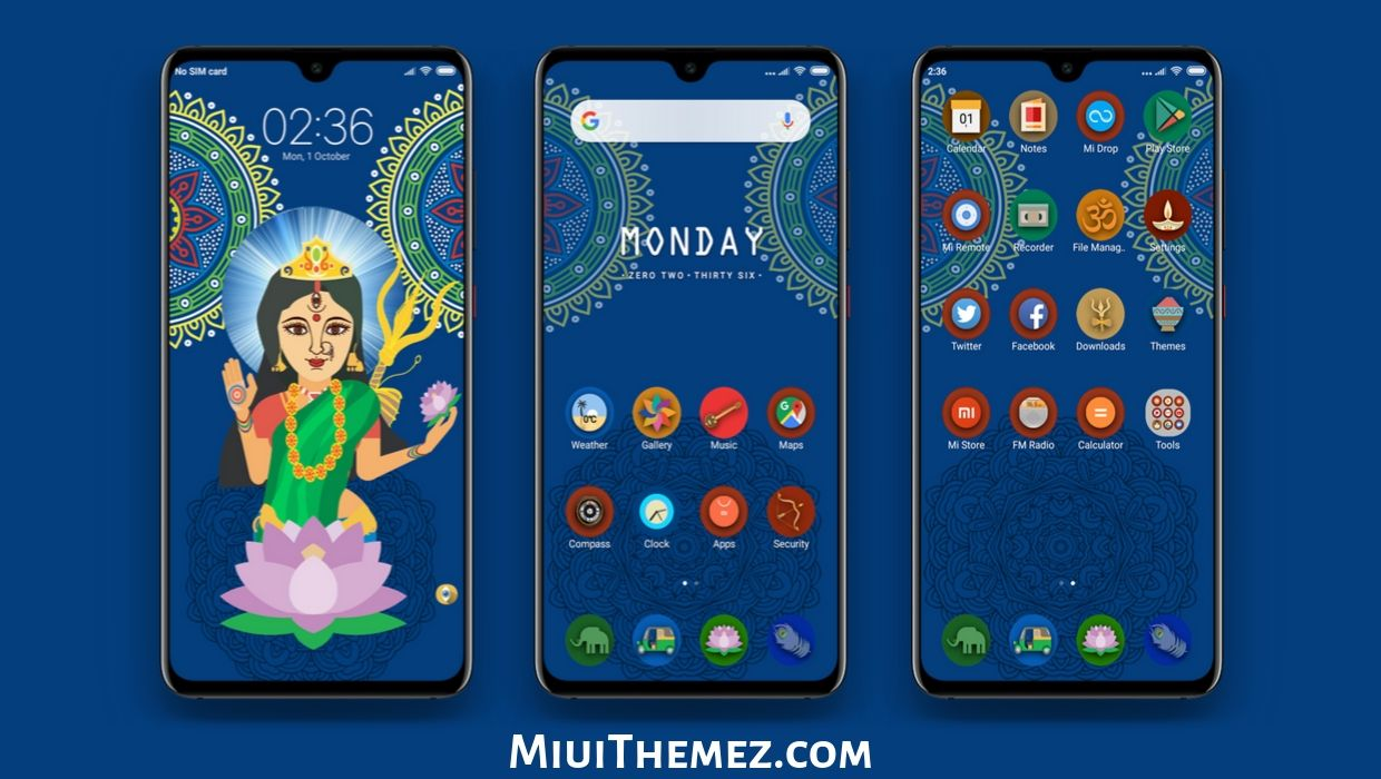 Maa Durga MIUI Theme | Navratri Special Theme for MIUI Users