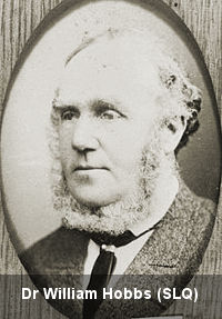 Dr William Hobbs, prison medical officer, Brisbane