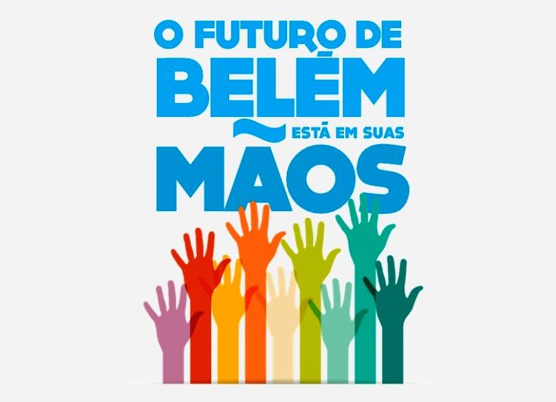 """eb14f48d2323 Com o tema """"O futuro de Belém está em suas mãos"""", a Prefeitura de Belém  realizará na próxima terça-feira, dia 22 de agosto, a partir das 19:00, no  Ginásio ..."""