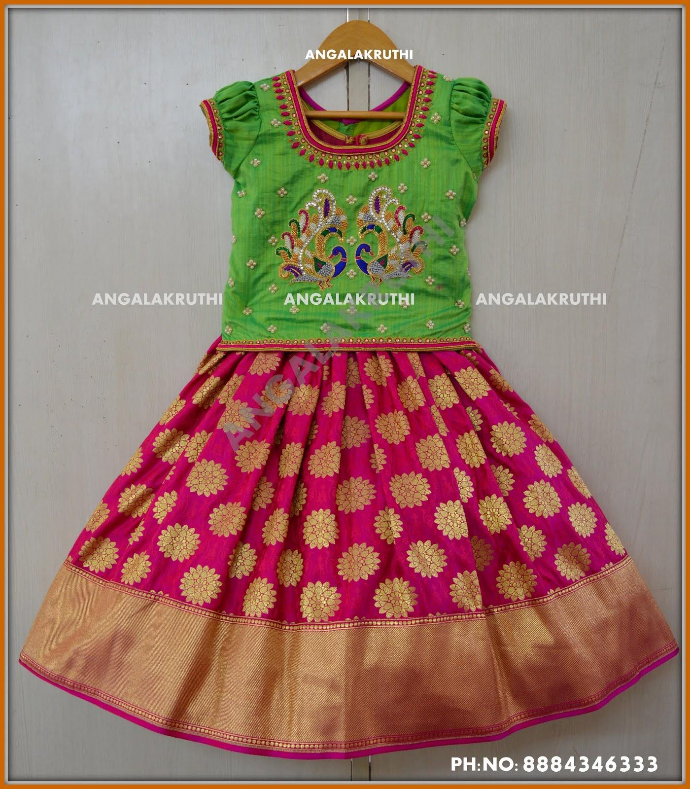 f8d7c1380 Kids custom designer dresses for 1st birthday -Designs by ...
