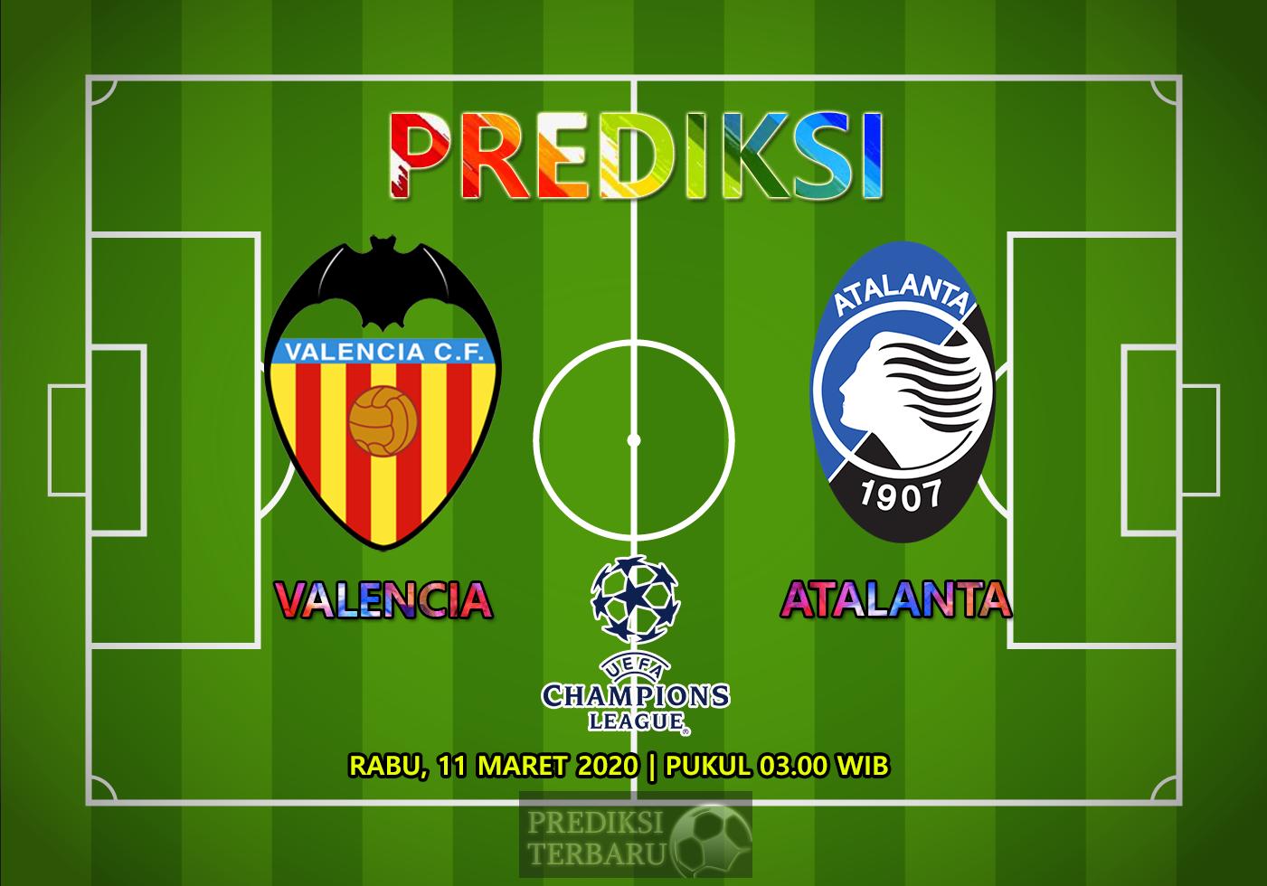 Prediksi Valencia Vs Atalanta Rabu 11 Maret
