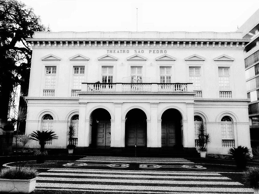 Theatro São Pedro, em Porto Alegre