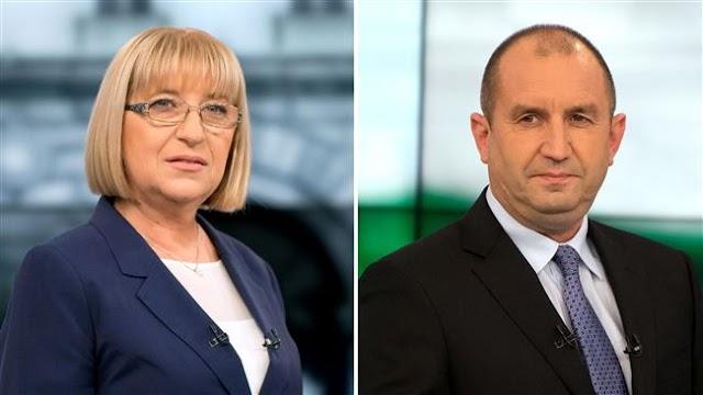 Bulgarians vote in presidential runoff election