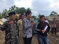 Komisi III DPRD Brebes Meninjau dan Menyayangkan Proyek Pembangunan 2 jembatan Tidak Kenakan Atribut Keselamatan Kerja