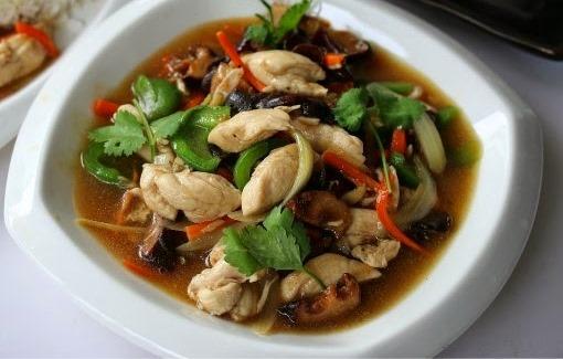 Resepi Ayam Masak Halia Ala Thai