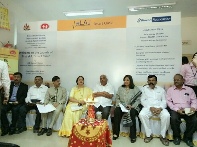 KR Ramesh Kumar_Kiran Mazumdar Shaw along with government officials