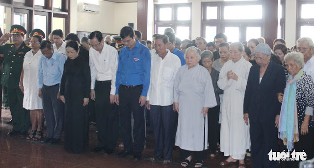 Anh Nguyễn Văn Trỗi đã an nghỉ tại nghĩa trang liệt sĩ TP. Hồ Chí Minh