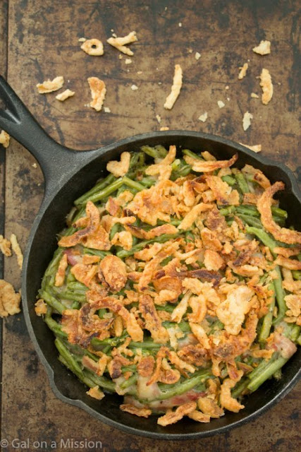 The Best Green Bean Casserole from Gal on a Mission