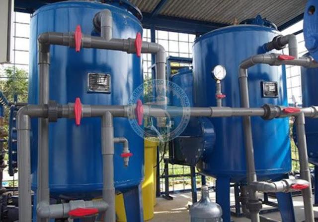 Tangki Carbon Filter 15 m3/jam