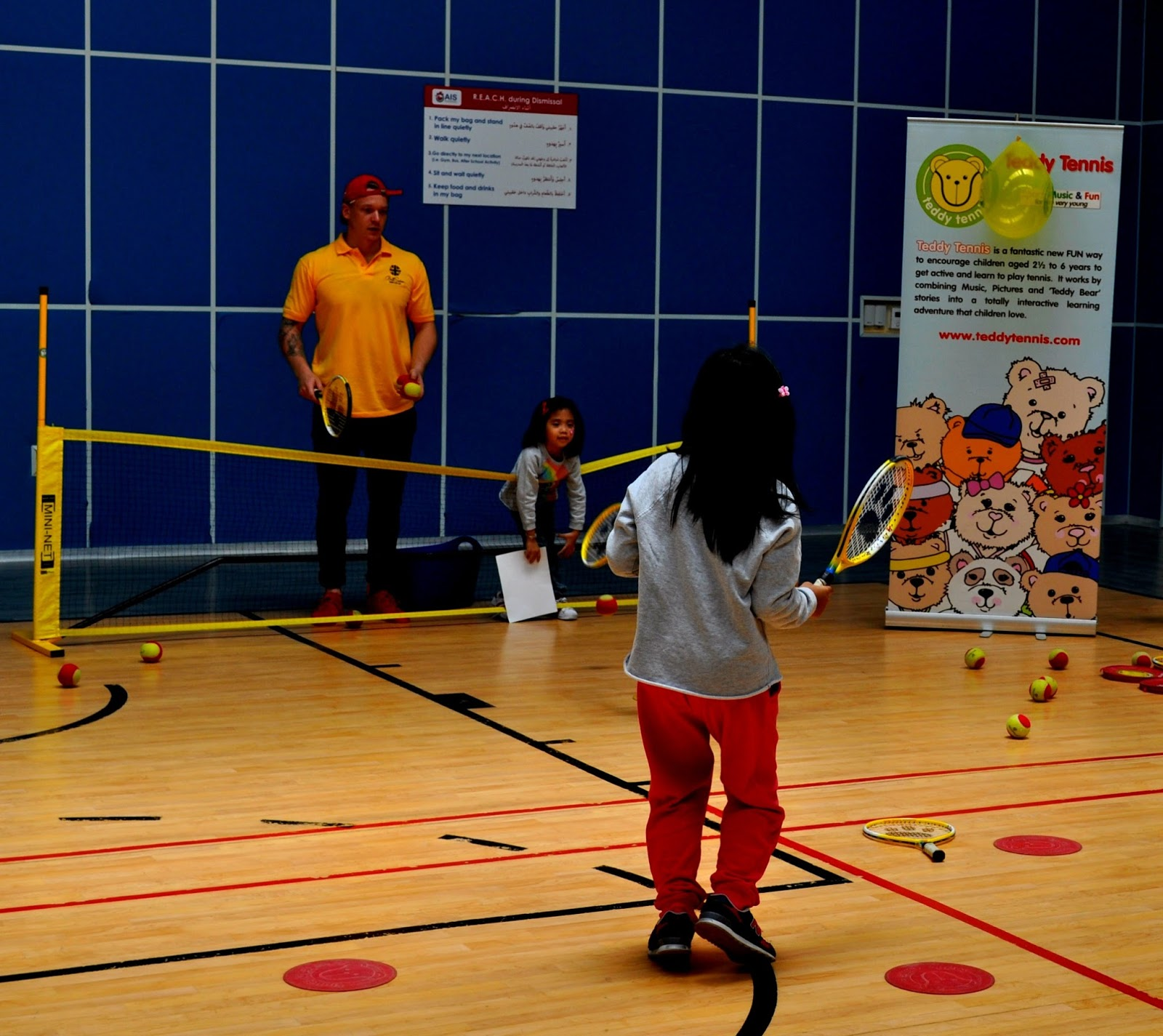 BritSwim Teddy Tennis lessons for kids Oman