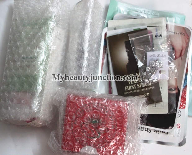 Rose Rose Secret Box review, unboxing: International beauty box