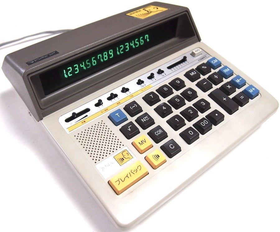 Tdl sharp el640 talking calculator youtube.