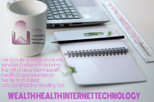Building wealth using Internet based products and services  WeHit