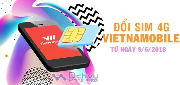 Hướng dẫn cách chuyển đổi sim Vietnamobile thành sim 4G